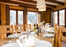 The chalet dining room