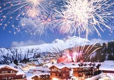 Courchevel fireworks