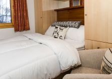 Les Chalets de Montalbert double bedroom