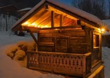 The Mazot outdoor sauna
