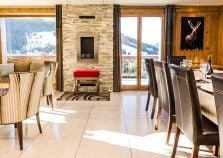 Spacious Open Plan Living and Dining Area in Chalet Golden Eagle