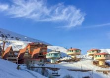 Chalets in Shemshack Ski Resort Iran