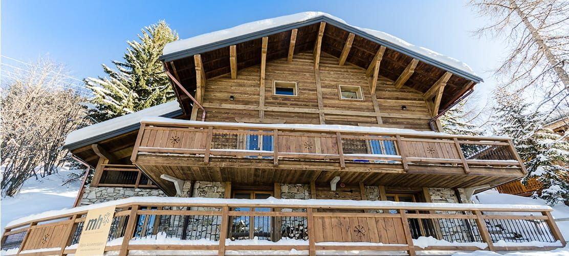 Catered chalet Ammonite in La Plagne exterior picture