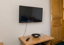 Flat screen TV in Montalbert self catered